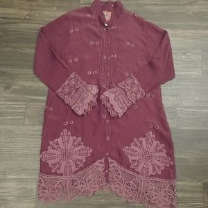 Johnny Was Wynee Scalloped Tunic
